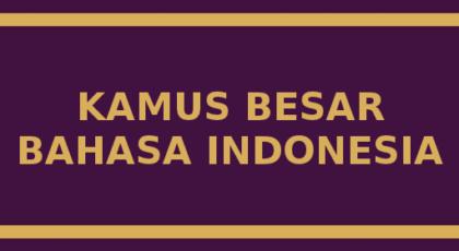 Download Software Kamus Besar Bahasa Indoneisa
