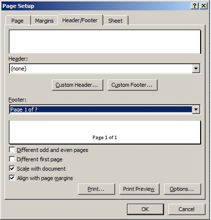 Tip Setting Page Layout di Ms. Excel 4