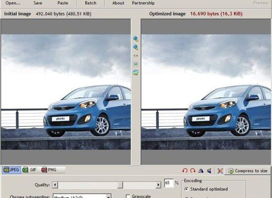 Kompres File Gambar dengan RIOT