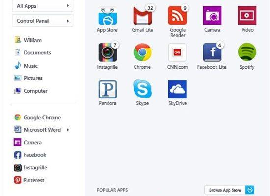Pokki Program Start Menu untuk Windows 8