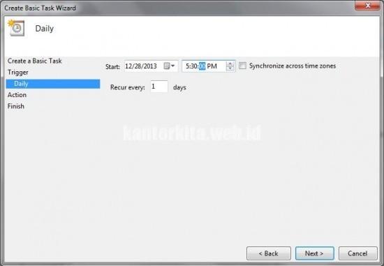 Membuat Auto Shut Down di Windows 7 Tanpa Software