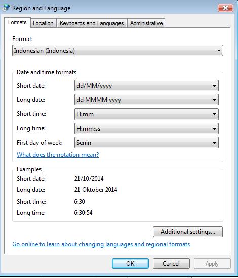 Menampilkan Nama Hari dan Tanggal di Sel Microsoft Excel