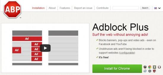 Menghilangkan Iklan Mengganggu dengan Adblock Plus