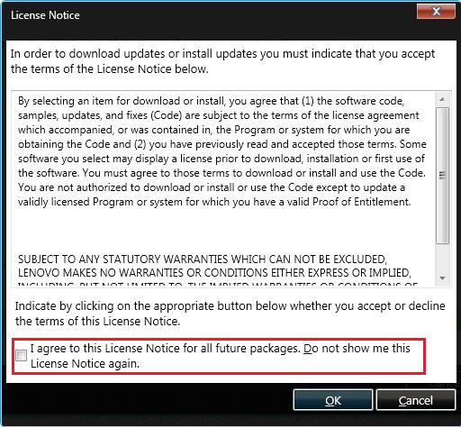 Cara Install Driver Lenovo Menggunakan ThinkVantage System Update 4