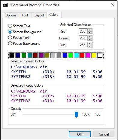 Cara Mengganti Warna Font dan Background Command Prompt Windows 10