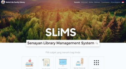 SLiMS Senayan Library Management System